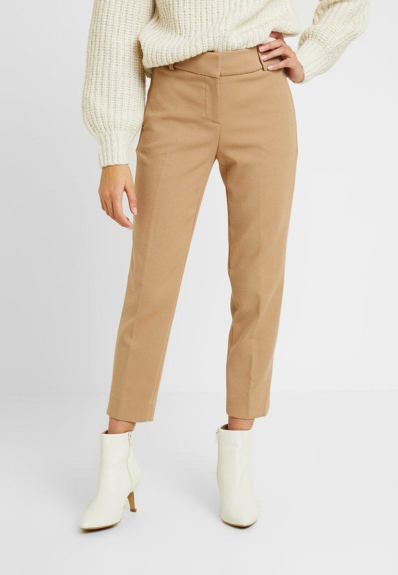 J.CREW PETITE - CAMERON PANT SEASONLESS STRETCH - Trousers - beige