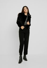J.CREW PETITE - HIGH RISE EASY PANT - Bukse - black - 1