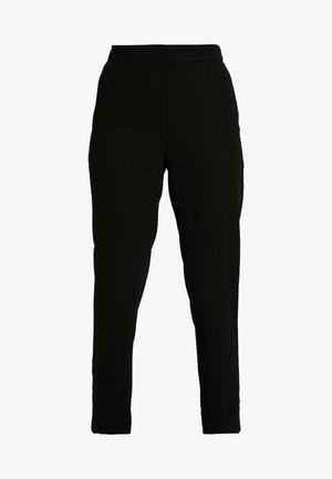 HIGH RISE EASY PANT - Pantalon classique - black