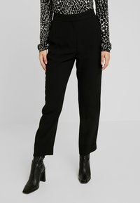 J.CREW PETITE - HIGH RISE EASY PANT - Bukse - black - 0