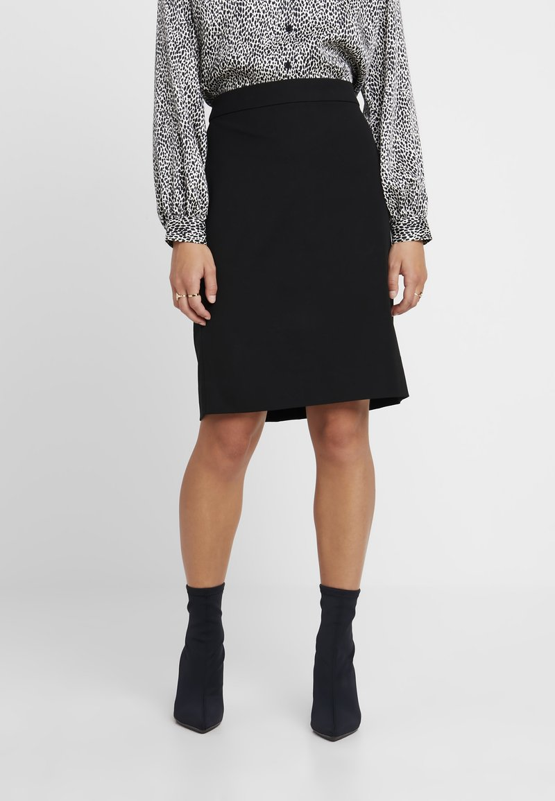 J.CREW PETITE - PENCIL NEW - Jupe crayon - black