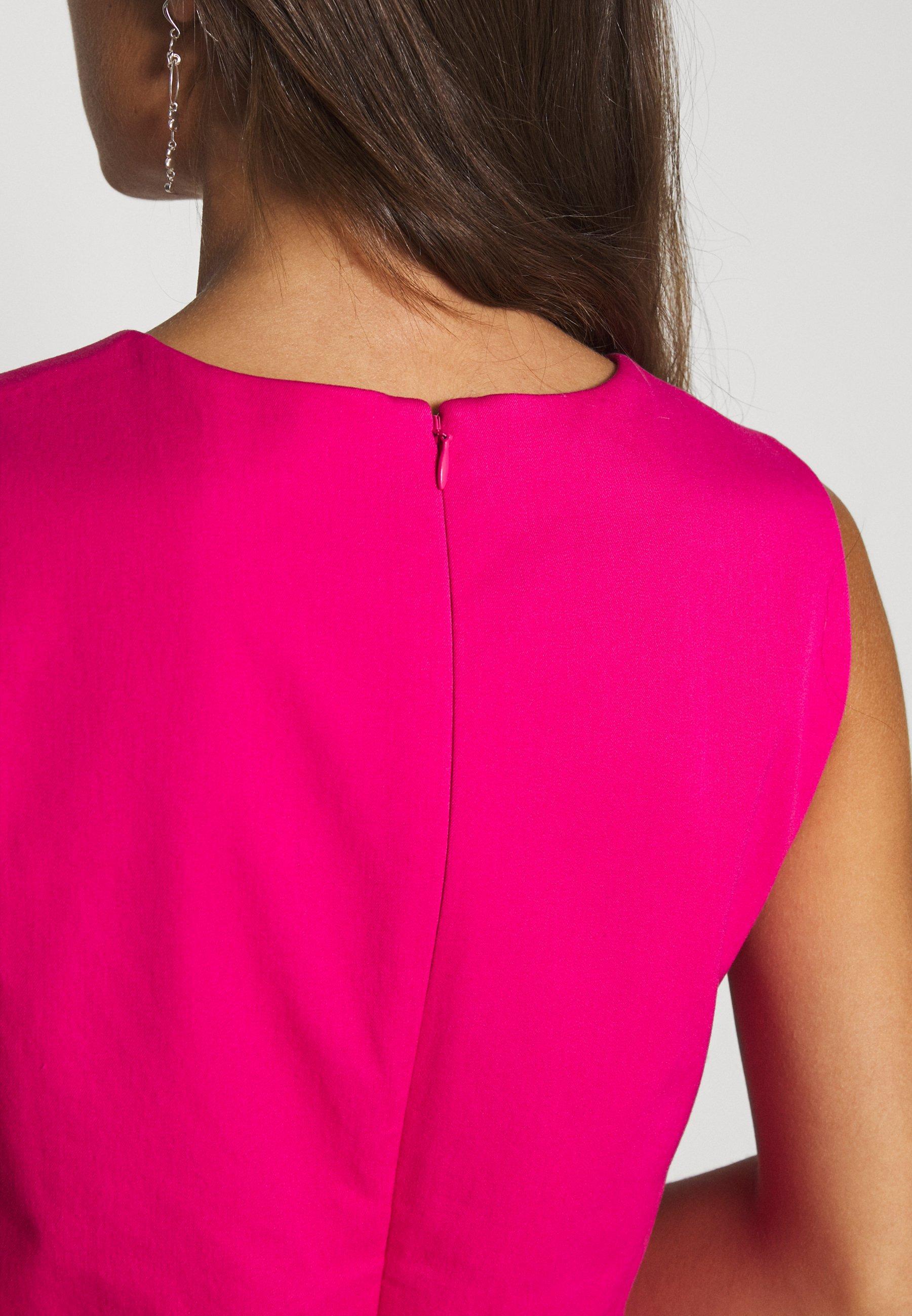 J.CREW PETITE SPRING SHOWERS DRESS BISTRETCH  - Sukienka etui - soft fuchsia
