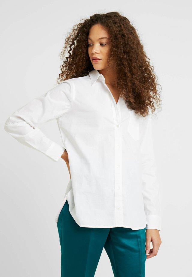 CLASSIC FIT BOY - Hemdbluse - white