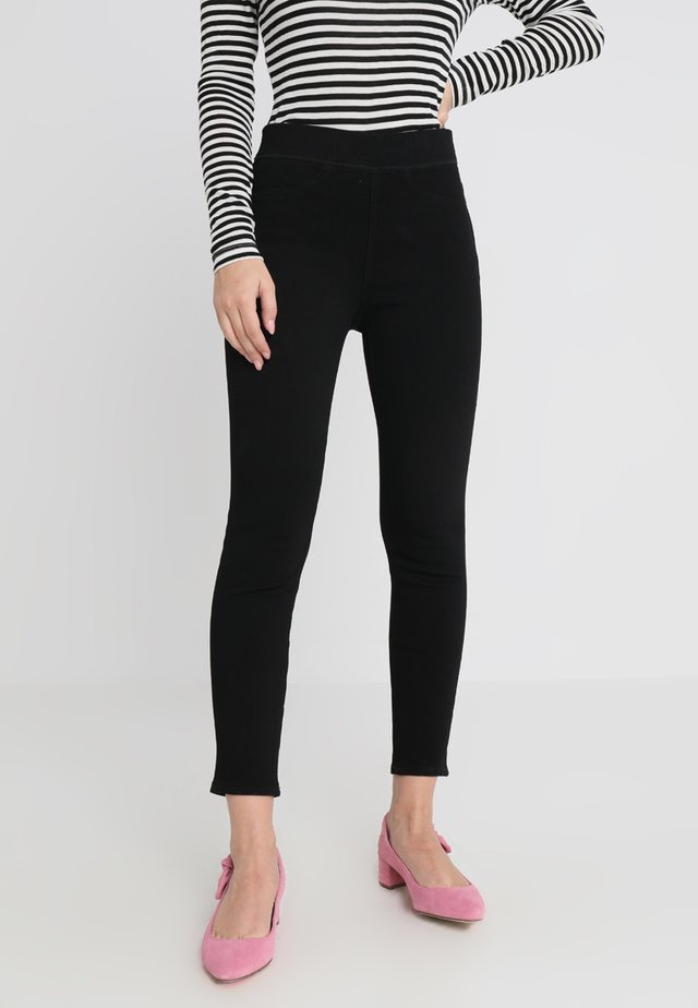 PULL ON - Jeansy Skinny Fit - true black