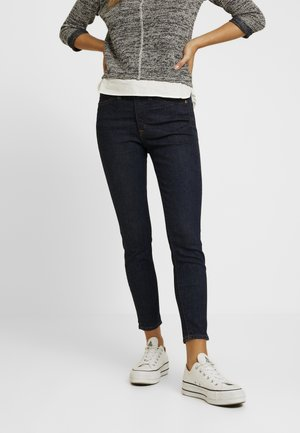 LOOKOUT HIGH RISE NEW CLASSIC RINSE - Jeans Skinny Fit - dark blue denim