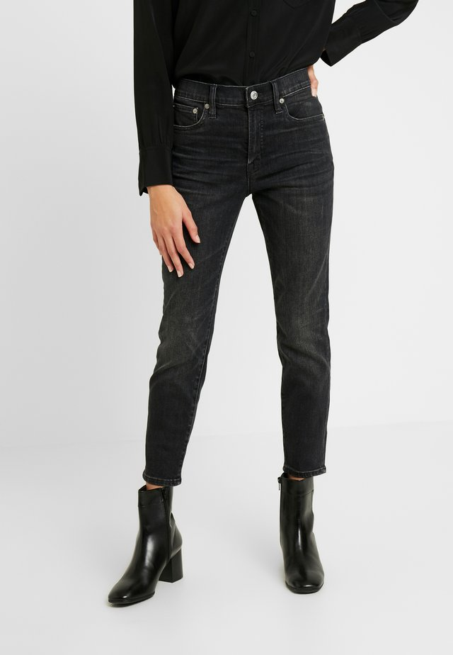 IN TOOTHPICK CANDIANI CHARCOAL - Jeans Skinny Fit - grey