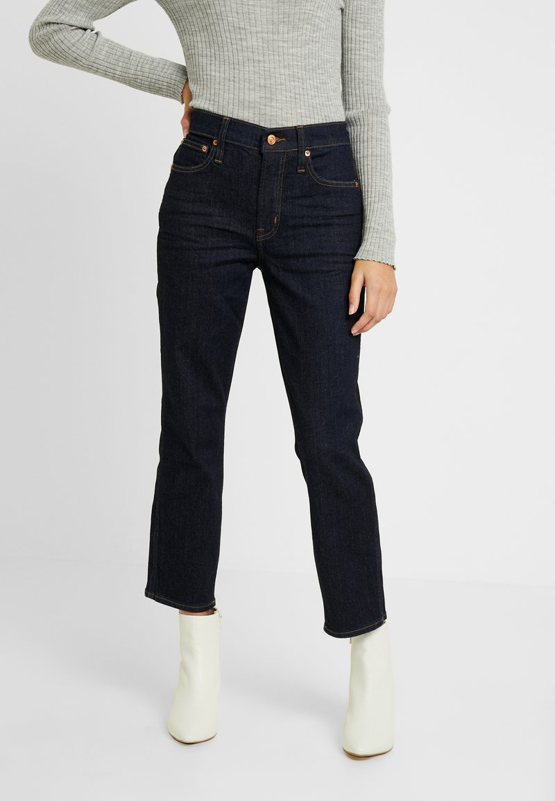 J.CREW PETITE - VINTAGE IN RESIN RINSE - Jeans Straight Leg - blue
