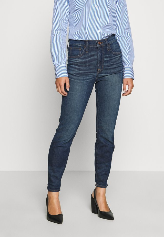 HIGH RISE TOOTHPICK - Jeansy Slim Fit - glendale wash