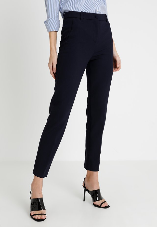 CAMERON SEASONLESS STRETCH - Trousers - navy