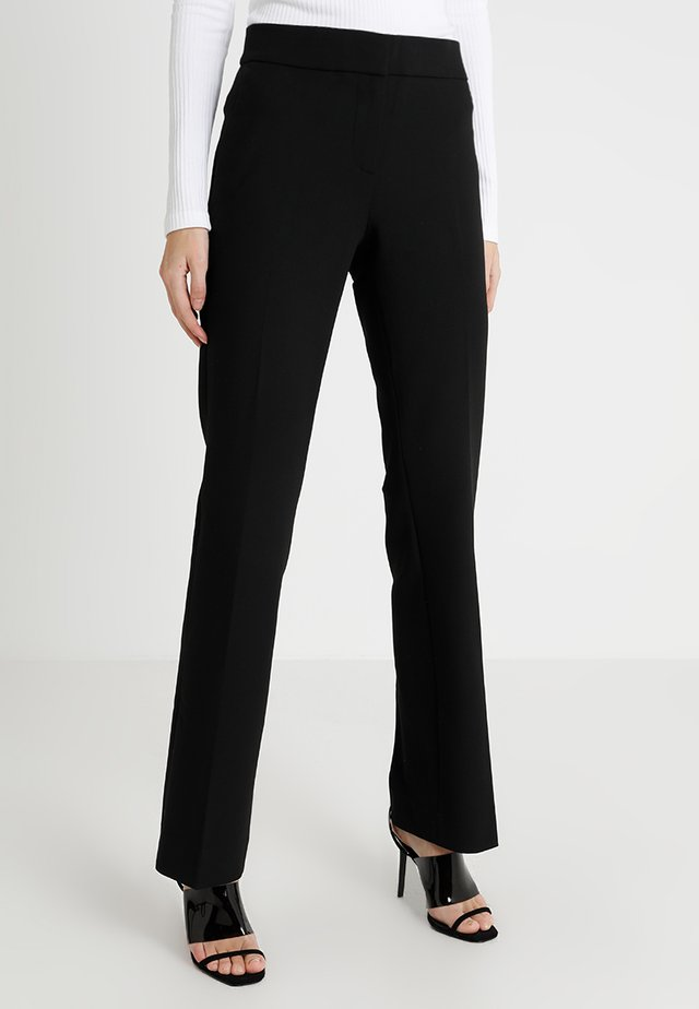 EDIE PANT SEASONLESS STRETCH - Bukser - black