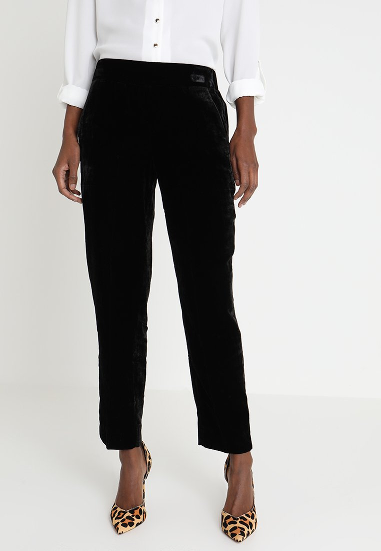 J.CREW TALL - EASY PANT - Trousers - black