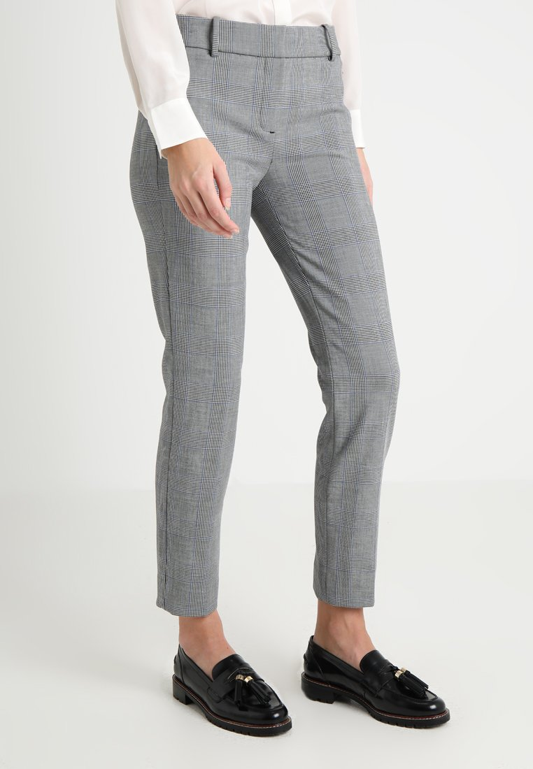 J.CREW TALL - CAMERON PANT SEASONLESS STRETCH - Broek - black blue ivory