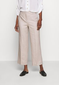 J.CREW TALL - EVERYBODY WIDELEG PANT TRAVELER - Trousers - beige - 0