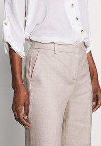 J.CREW TALL - EVERYBODY WIDELEG PANT TRAVELER - Trousers - beige - 3