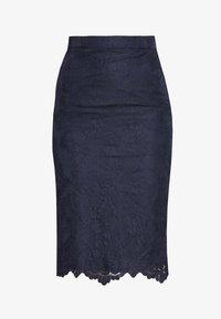 J.CREW TALL - JANIS PENCIL - Pencil skirt - navy - 5
