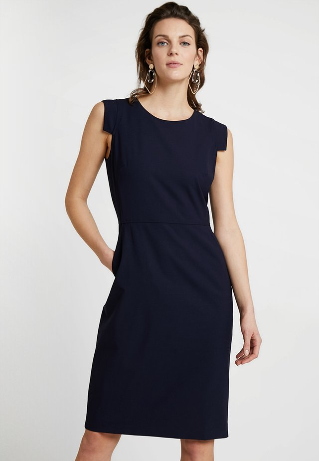 RESUME DRESS BISTRETCH - Pouzdrové šaty - navy