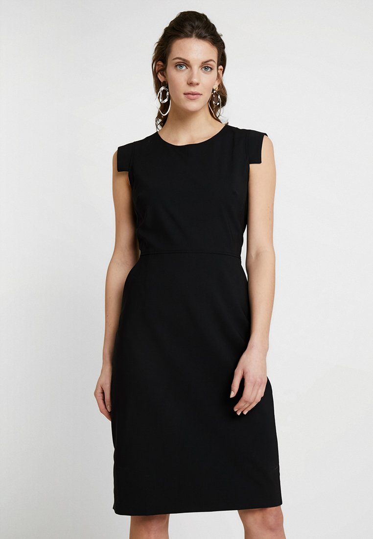 J.CREW TALL - RESUME DRESS BISTRETCH - Shift dress - black