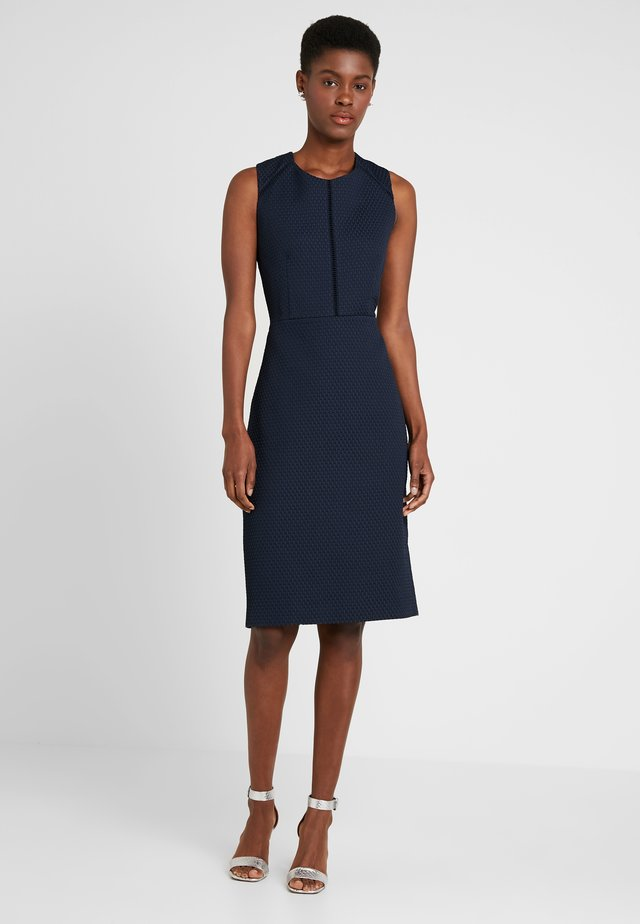 PORTFOLIO DRESS - Shift dress - navy