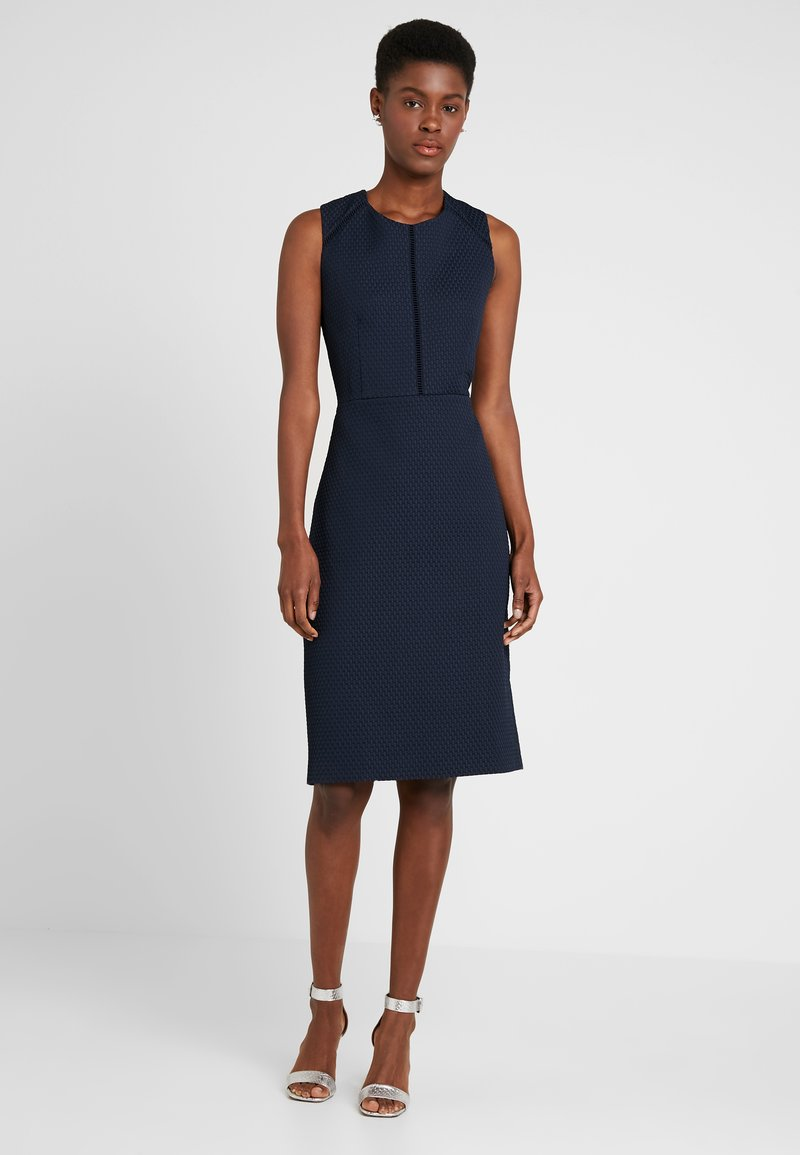 J.CREW TALL - PORTFOLIO DRESS - Etuikleid - navy