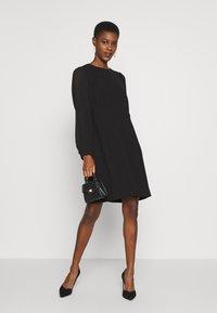 J.CREW TALL - FOGGIA DRESS - Vapaa-ajan mekko - black - 1