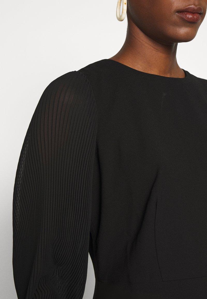 J.CREW TALL FOGGIA DRESS - Kjole - black