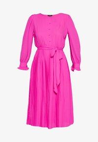 J.CREW TALL - SOLID CARLY DRESS - Paitamekko - neon flamingo - 4
