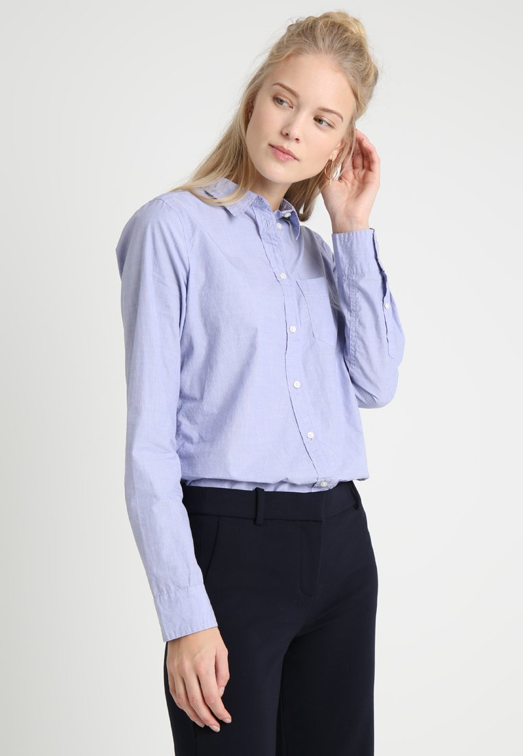 J.CREW TALL - BOY SHIRT - Blouse - blau