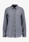 CLASSIC FIT BOY IN CRINKLE GING - Button-down blouse - classic navy