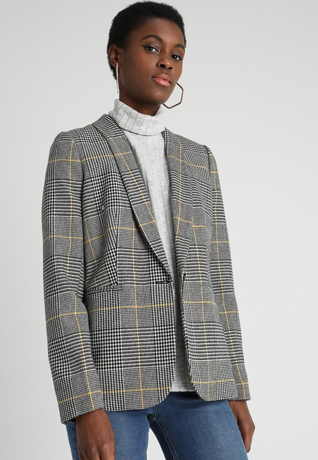 PARKE GLENPLAID - Blazer - yellow/black/white