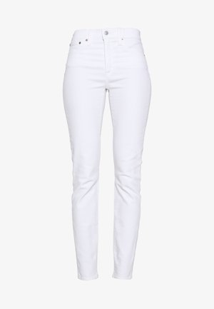LOOKOUT HIGH RISE - Jeansy Slim Fit - white