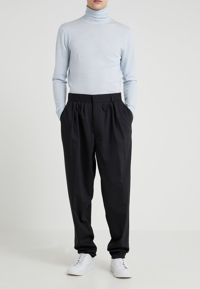 PADSTOW FINE COMFORT - Trousers - black