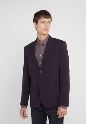 CANNES - Veste de costume - burgundy