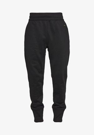 NEW NEOPRENE TRACKSUIT - Spodnie treningowe - black