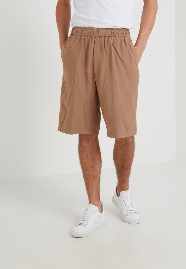 PORT - Shorts - camel