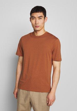 CREW  - Basic T-shirt - rust