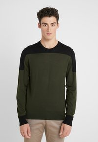Joseph - BLOCK  - Strickpullover - military - 0