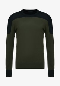 Joseph - BLOCK  - Strickpullover - military - 4