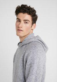 Joseph - HOODY - Sweter - grey chine - 3
