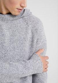 Joseph - HOODY - Sweter - grey chine - 5