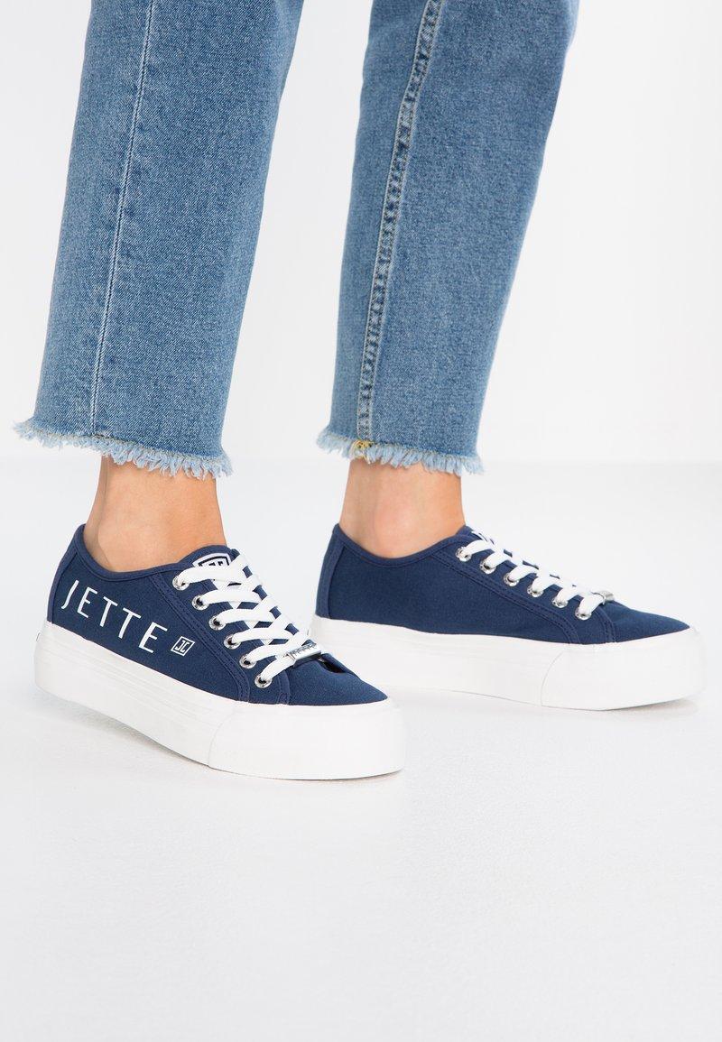 JETTE - Baskets basses - navy