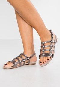 JETTE - Sandals - pewter - 0