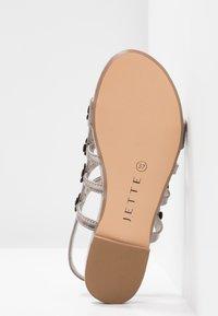 JETTE - Sandals - pewter - 6