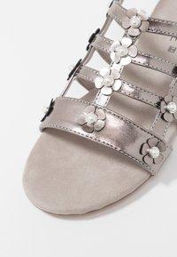 JETTE - Sandals - pewter - 2