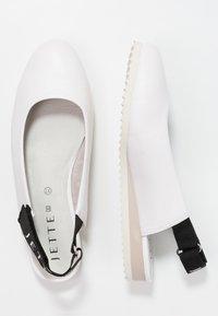 JETTE - Sling-Ballerina - white - 3