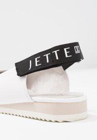 JETTE - Sling-Ballerina - white - 2