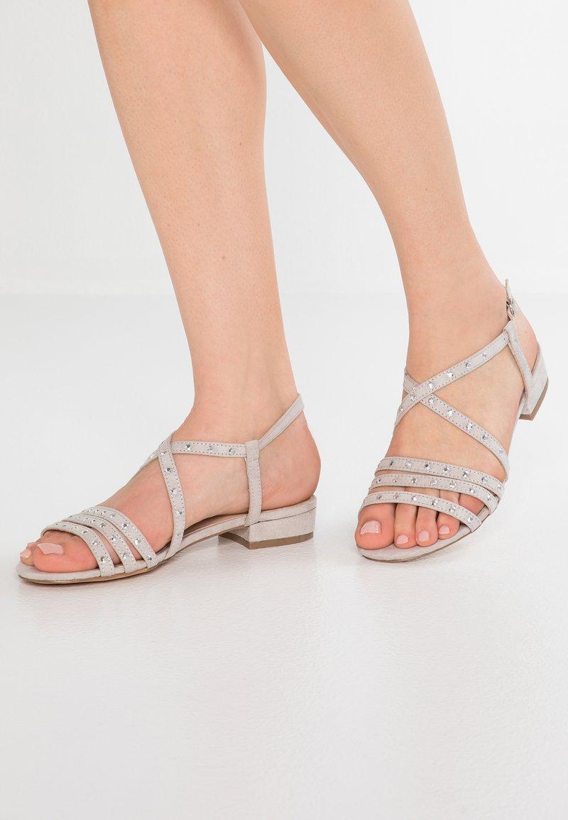 JETTE - Sandaler - light grey