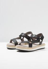 JETTE - Platform sandals - black - 4