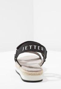 JETTE - Platform sandals - black - 5