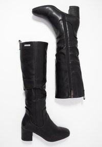 JETTE - Vysoká obuv - black - 3