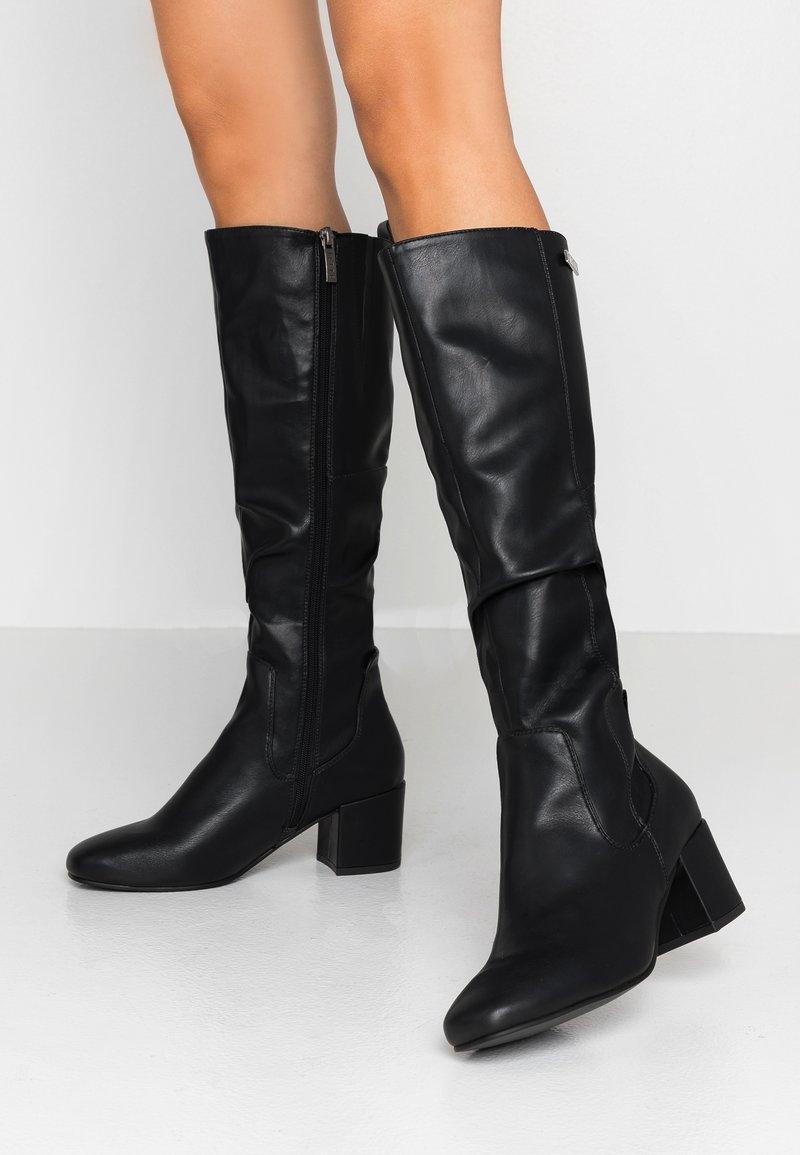 JETTE - Høje støvler/ Støvler - black